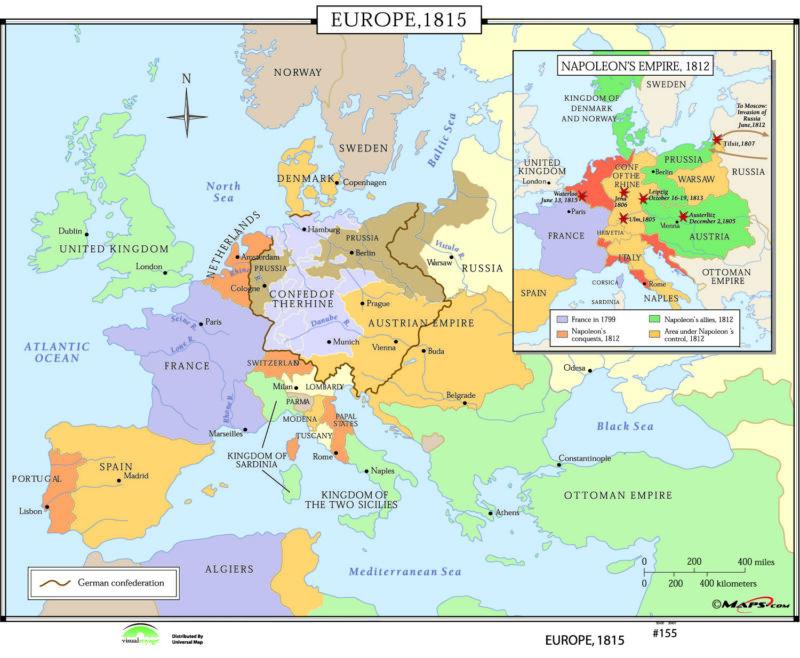 155 Europe, 1815
