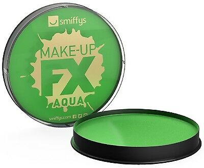 Ladies Mens Green Water Based Halloween Special FX Make Up Fancy Dress Costume - Water Based Halloween Makeup