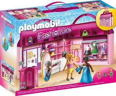 Playmobil Tienda Ropa Baño 6862 / Niña Chica Juguete Navidad