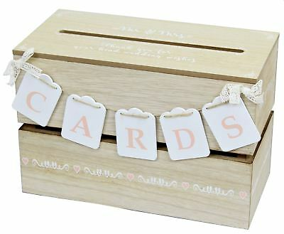 Wooden Wedding Guest Wishes Card Post Envelope Drop Memory - Wedding Envelope Box