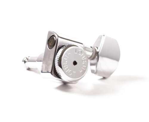Hipshot Fender Drop-in Upgrade Directrofit locking 2-pin tuner kit, Chrome NEW!