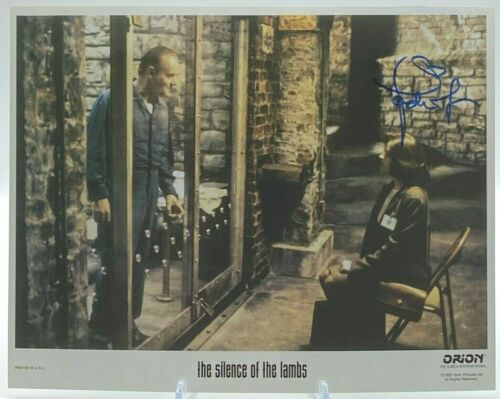 Jodie Foster Silence Of The Lambs SIGNED 11x14  Photo AFTAL OnlineCOA
