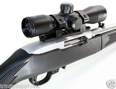 Ruger 10/22 accessories 4x32 scope with mount hunting gear home defense target  Ruger Hunting Scope