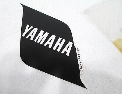 VINTAGE YAMAHA DT125 DT175 SIDE COVER OIL TANK DECALS