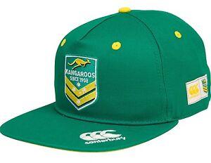 Australian Kangaroos NRL 2016 Drill Cap / Hat BNWT