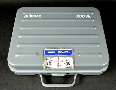 Pelouze Model P100s Heavy Duty Mechanical Shipping Utility Scale