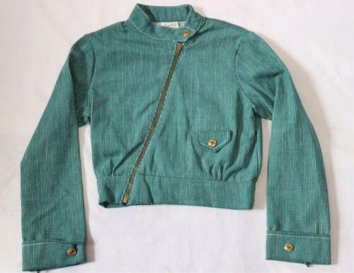 Vintage 70s Girls Jacket Coat sz 10 Dead Stock