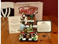 Coca Cola WWII Heritage Collection The Homecoming 1995 Limited Edition Signed