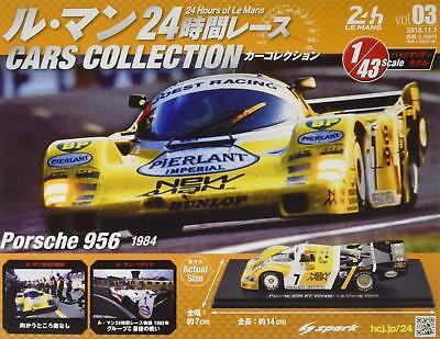 Le Mans Cars Collection 24 Hour Race Porsche 956 1984 Hachette Magazine Model