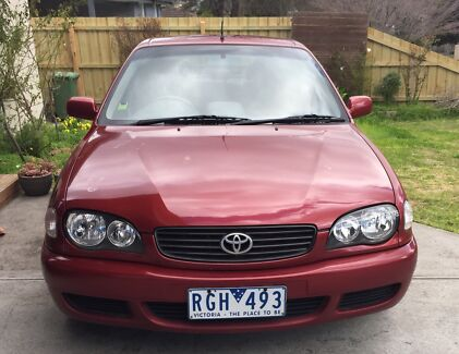 2000 Toyota Corolla Conquest Seca Auto Croydon Maroondah Area Preview
