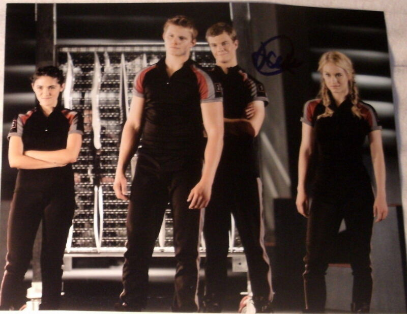"JACK QUAID SIGNED AUTOGRAPH ""THE HUNGER GAMES"" GROUP OF TRIBUTES 8X10 PHOTO COA"