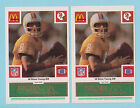 Rookie Steve Young Football Trading Cards Lot