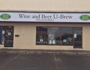 TURNKEY BEER AND WINE MAKING BUSINESS