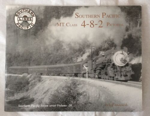 Southern Pacific, Photo Album Series Vol 28, MT Class, 4-8-2, Pictorial