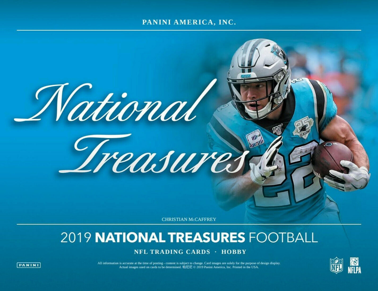 JUSTICE HILL - 2019 National Treasures 2X FULL CASE (8bx) BREAK #1 For Sale - 2