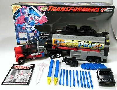 Hasbro Vintage Transformers Generation 2 Laser Optimus Prime 1994 With Box