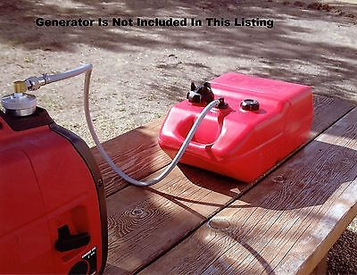 Honda Eu2000i Generator Extended Run 6 Gallon Fuel Tank System Read First