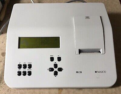 Maico Mi 26 Tympanometeraudiometer Combo