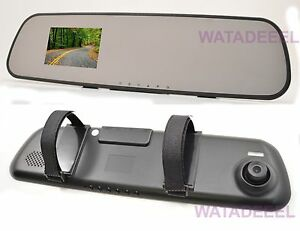 NEW-HD-1080P-Dash-Cam-Video-Recorder-Rearview-Mirror-Car-Camera-Vehicle-DVR