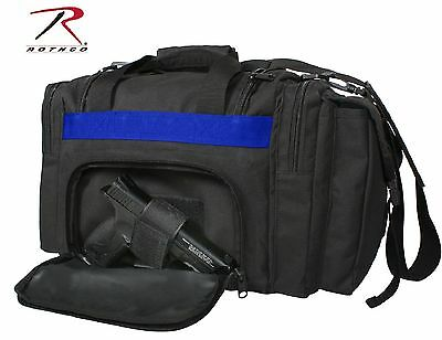Concealed Carry Thin Blue Line Carry Bag - Rothco Black CCW MOLLE Tactical Bags