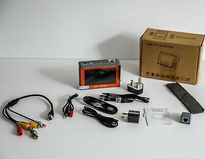 Cctv Camera Tester Kit 4.3 For Tvi Ahd Cvi Cvbs. Rcabnc And 4 Pin Camera Input