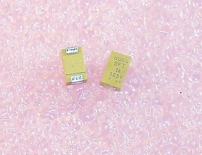 Qty 25 Trsft-1 Cooper Bussmann 1a 125v Fast Acting Smd 2410 Case Fuses Sft-1