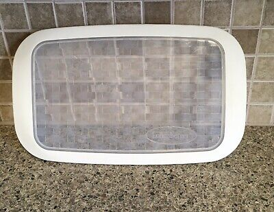 Longaberger Pottery Silicone Plastic Lid for 9 x 13 Baking Dish 2 Quart Lid