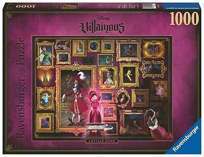 1000 TEILE*DISNEY VILLAINOUS SCHURKEN*CAPTAIN HOOK*OVP (Captain Hook Disney)