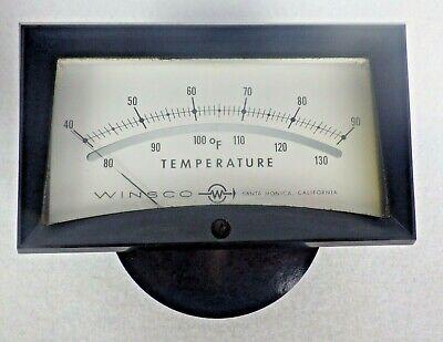 Api Winsco Temperature Indicator Analogue Panel Meter Gauge With Box