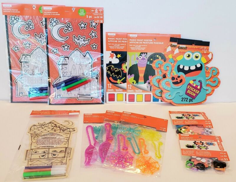 Creatology Halloween Lot of 12 VARIETY Arts Crafts Posters Stickers Kits Fun NEW