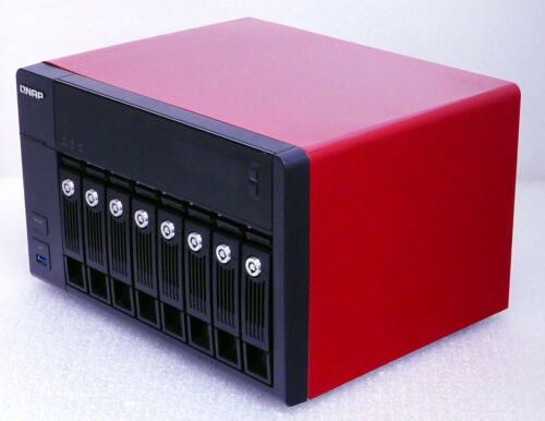 Qnap NAS TVS-871-i5-16G-US 8 X 256GB SSD TOTAL 2TB SSD