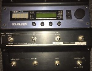 TC Helicon Voice Live MultiFx Correction Harmony