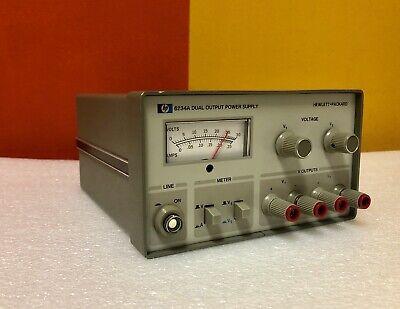 Hp Agilent 6234a 25 V 0.2 A 10 W Dual Output Dc Power Supply