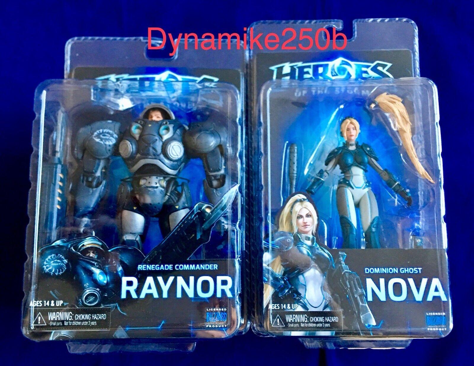 Heroes Of The Storm Nova Jim Raynor Figures