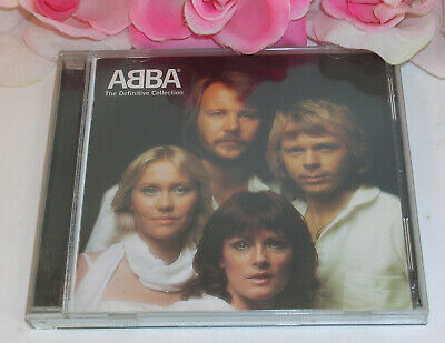 Abba The Definitive Collection 37 Tracks 2 CD Set 1972-82 Used CD Polar Music