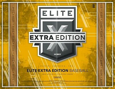 Drew Rom - Baltimore Orioles 2019 Elite Extra Edition 1/2 Case Player Break