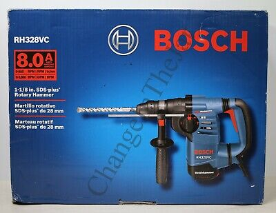 Bosch 1-18-inch 8.0amp Sds Rotary Hammer Rh328vc With Vibration Control New