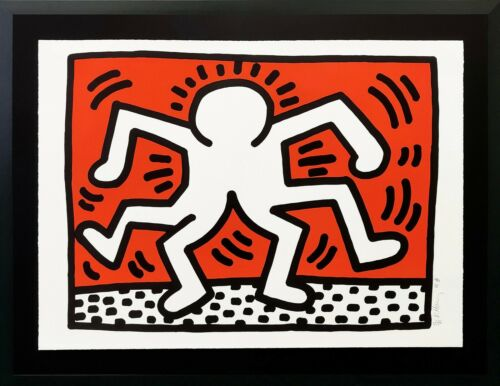 """Keith Haring """"double Man"""" 1986 