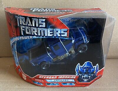 Transformers 2007 Movie Voyager Class Offroad Ironhide Figure Sealed