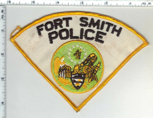 Fort Smith Police (Arkansas) 1st Issue Shoulder Patch