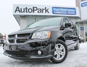 2017 Dodge Grand Caravan Crew NAVI | DVD | HEATED LEATHER