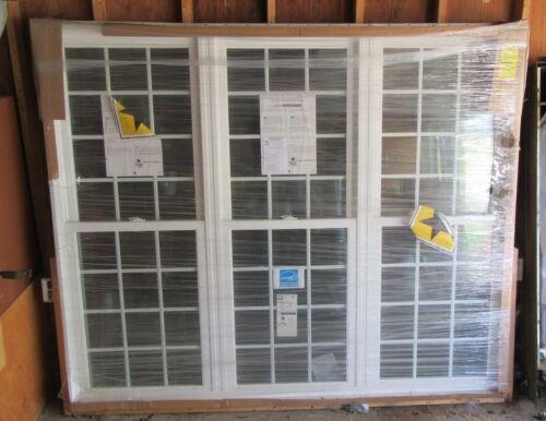 """PELLA WINDOW 3 Wide Double Hungs 86 1/2"""" x 72"""""""