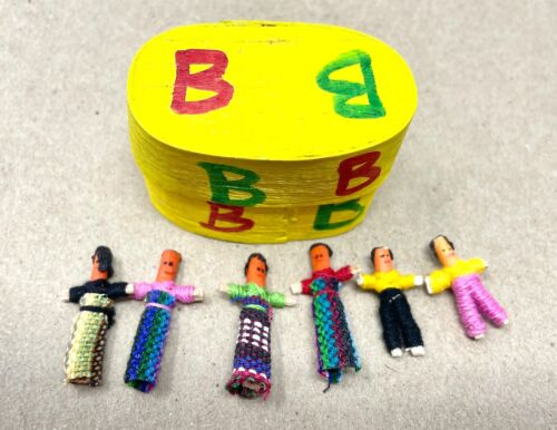 Dream, Worry Dolls, in a Box, from Guatemala