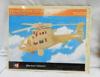 Helicopter - 3d Wooden Model Construction Kit - Bnib - aw - ebay.co.uk