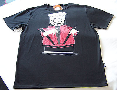 - South Park Chef Mens Black Printed T Shirt Size XS New
