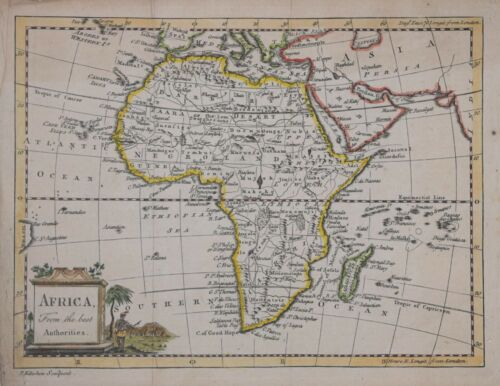 AFRICA FROM THE BEST AUTHORITIES BY THOMAS KITCHIN, CIRCA 1750