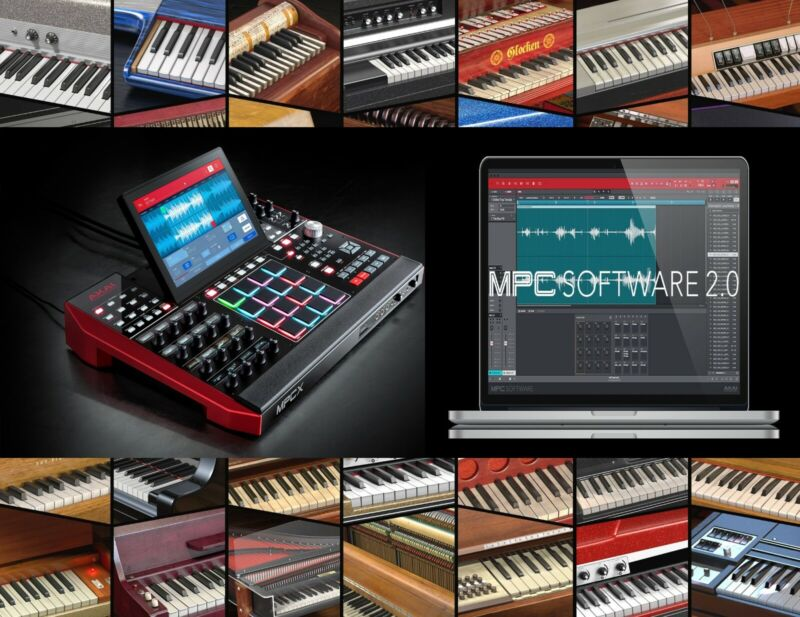 Create your Own Akai MPC X Keygroup Library Choose 20 Packs- Shipped on 1TB SSD