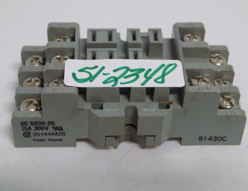 EAGLE SIGNAL CONTACT RELAY SOCKET 60 SR3B-05