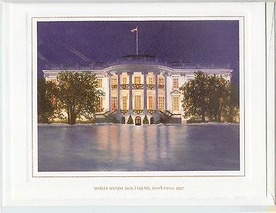 1997 White House OFFICIAL Christmas Card President BILL CLINTON *NEW*