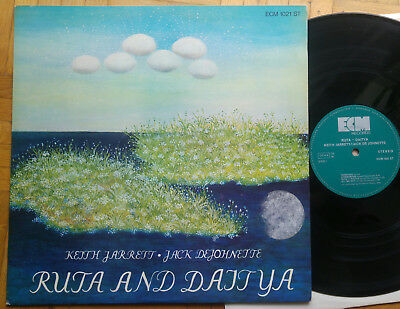 KEITH JARRETT / JACK DeJOHNETTE - Ruta And Daitya * LP * D 1973 * ECM 1021